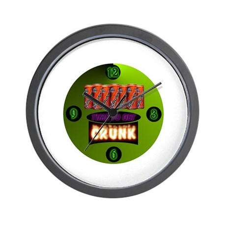 """Time to get Crunk"" Wall Clock"