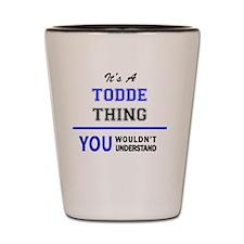 Funny Todd Shot Glass