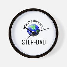 World's Greatest STEP-DAD Wall Clock