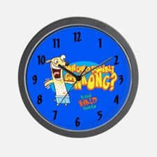Almost Naked Animals Wall Clock