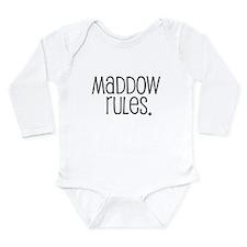 Cute Msnbc Long Sleeve Infant Bodysuit