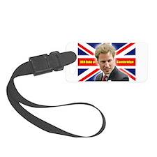 HRH Duke of Cambridge Luggage Tag