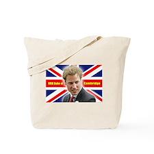 HRH Duke of Cambridge Tote Bag