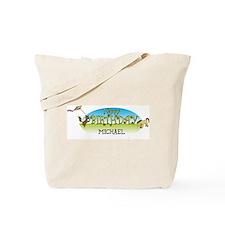 Happy B-Day Michael (farm) Tote Bag