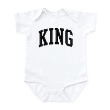 KING (curve-black) Infant Bodysuit