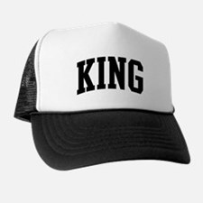 KING (curve-black) Trucker Hat