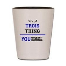 Unique Troy Shot Glass