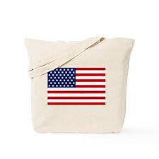 Stars and Stripes USA Tote Bag