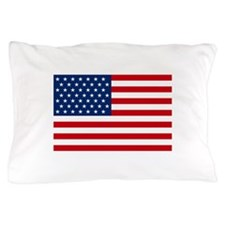 Stars and Stripes USA Pillow Case