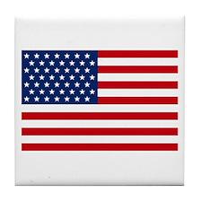 Stars and Stripes USA Tile Coaster
