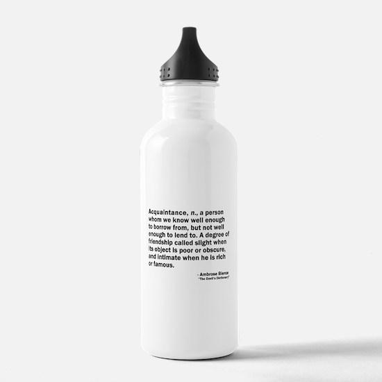 Acquaintance Water Bottle