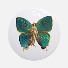 Venus Butterfly Ornament (Round)