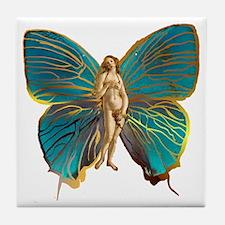 Venus Butterfly Tile Coaster