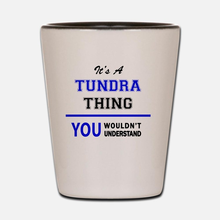 Cute Tundra Shot Glass