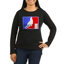 Barrel Racer (MajorLeague) Womens Long Sleeve Dark