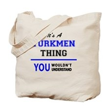 Cute Turkmen Tote Bag