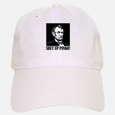 Abraham Lincoln says, SHUT UP PINKO! Baseball Baseball Cap