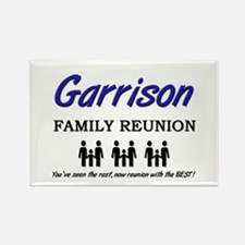 Garrison Family Reunion Rectangle Magnet