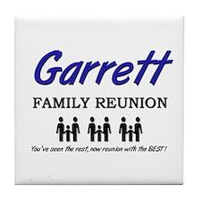 Garrett Family Reunion Tile Coaster
