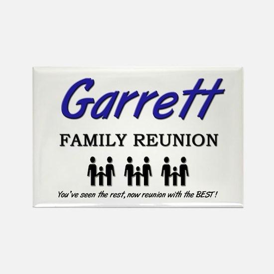 Garrett Family Reunion Rectangle Magnet