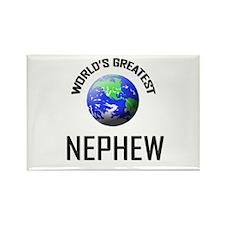 World's Greatest NEPHEW Rectangle Magnet (10 pack)