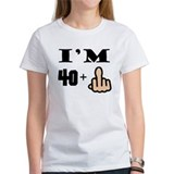 39 plus middle finger Women's T-Shirt