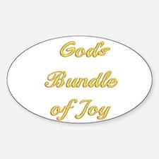God's bundle of joy Decal