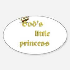 God's little princess Decal