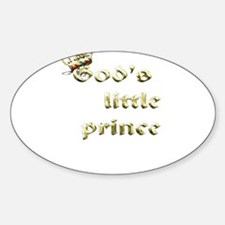 God's little prince Decal