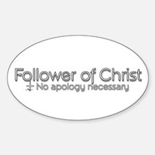 no apology necessary Decal