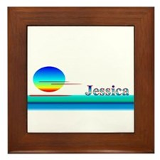 Jessica Framed Tile