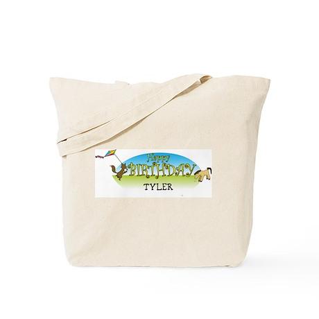 Happy B-Day Tyler (farm) Tote Bag