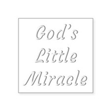 God's little miracle Sticker