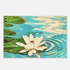 Lotus Flower Postcards (Package of 8)
