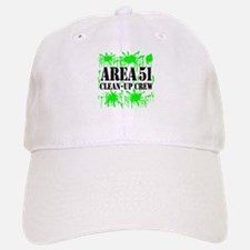 Area 51 Clean-Up Crew Baseball Baseball Cap