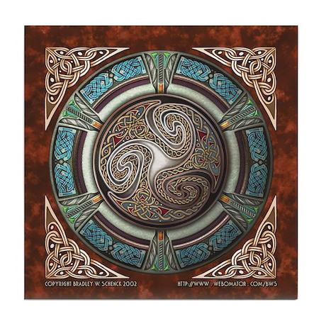 Triskelion Tile Coaster