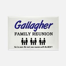 Gallagher Family Reunion Rectangle Magnet