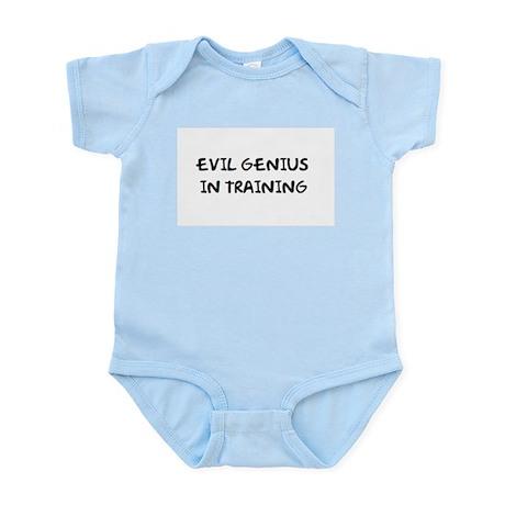 """""""Evil Genius In Training"""" Infant Creeper"""