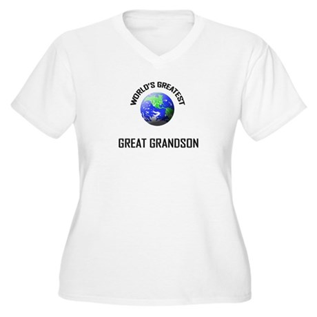 World's Greatest GREAT GRANDSON Women's Plus Size