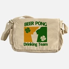 St. Pats. Beer Pong Team Messenger Bag