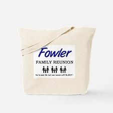 Fowler Family Reunion Tote Bag