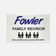 Fowler Family Reunion Rectangle Magnet