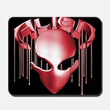 Alien Logo w/Face Mousepad