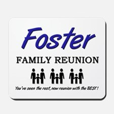 Foster Family Reunion Mousepad