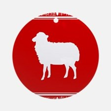 Year of the Sheep Chinese Zodiac Symbol Ornament (