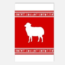 Year of the Sheep Chinese Zodiac Symbol Postcards
