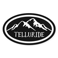 Telluride Mountain Decal