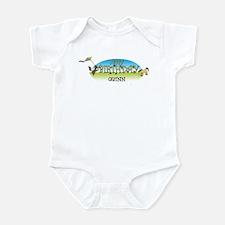 Happy B-Day Quinn (farm) Infant Bodysuit