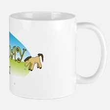 Happy B-Day Quinn (farm) Small Small Mug
