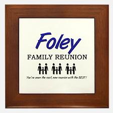 Foley Family Reunion Framed Tile
